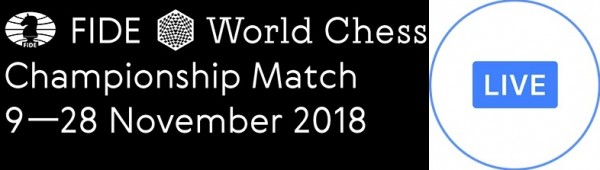 World Chess Championship 2018 live