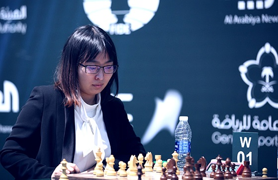 Ju Wenjun World Rapid Championship