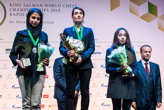 King Salman World Blitz Chess Championship - Women