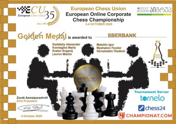 European Corporate Chess Championship 1