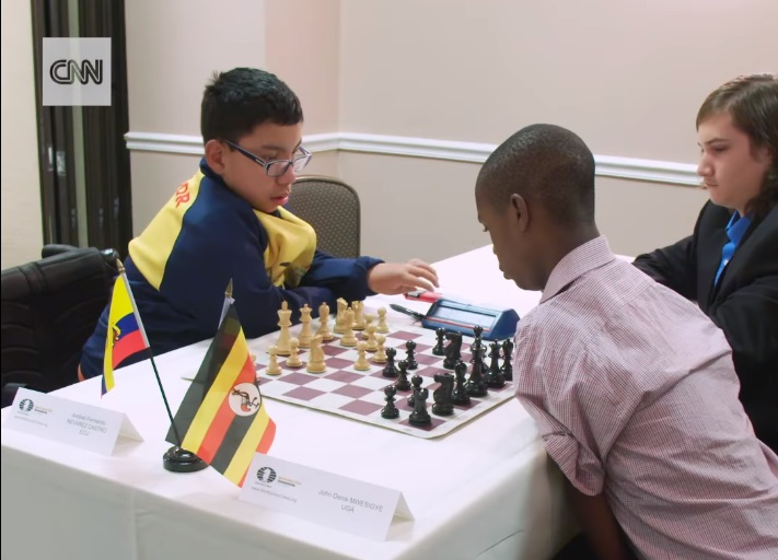 Online Chess Olympiad for People with Disabilities