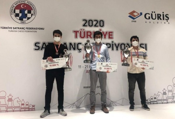 Sanal Vahap defends the title of Turkish Champion