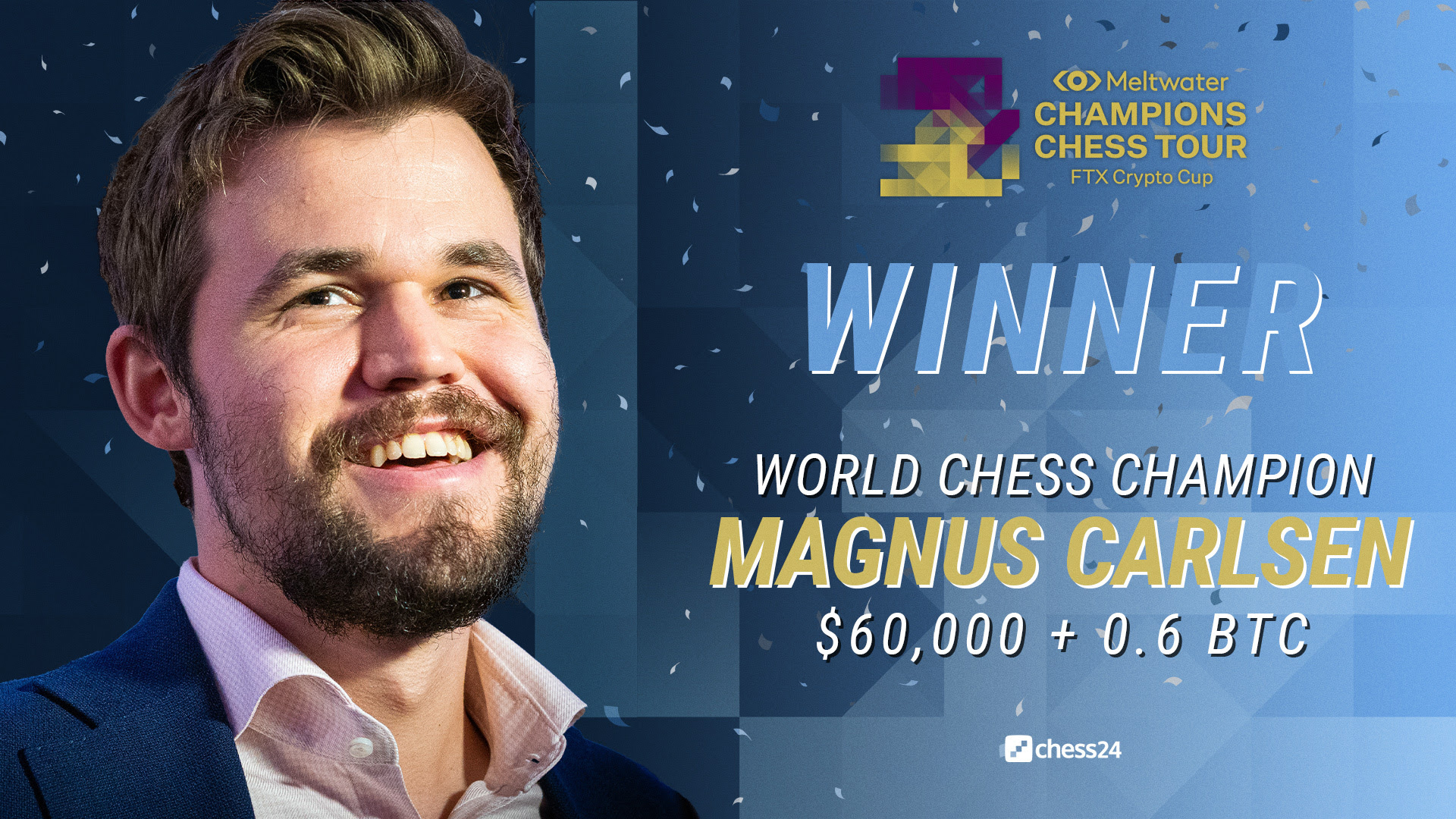 Magnus Carlsen wins FTX Crypto Chess Cup – Chessdom