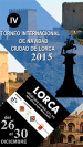 4th Lorca Open 2015 LIVE!