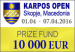 Karposh Open 2016 to be held in Skopje